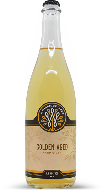 Wyndridge Cider 750ml Bottle: Golden Aged